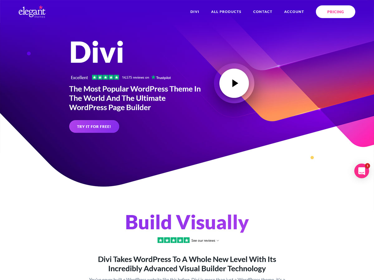 Divi – Review of A Popular Multi-purpose theme 2021