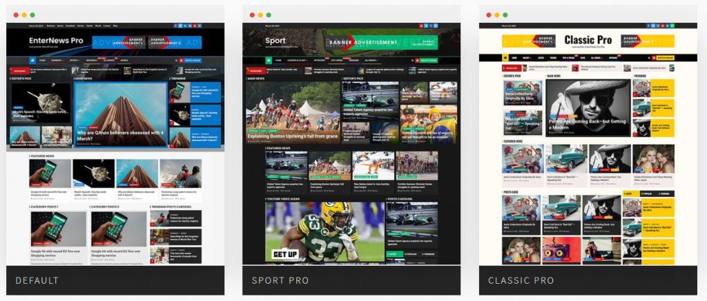 Demos of Enternews Pro