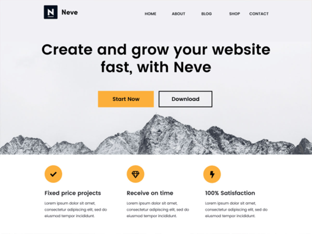 Neve – A WordPress Popular Theme's Review