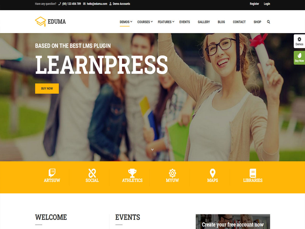 Eduma- Review of the Best-Selling WordPress Education Theme (2021)