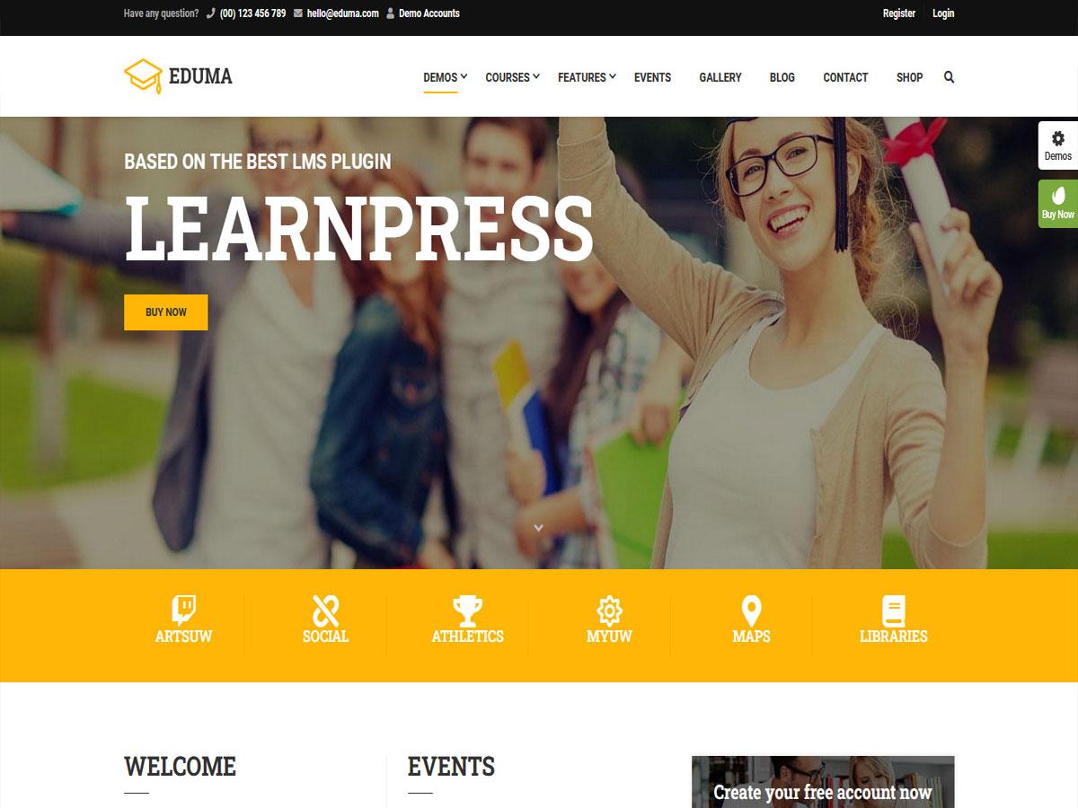 Eduma- Review of the Best-Selling WordPress Education Theme (2021)