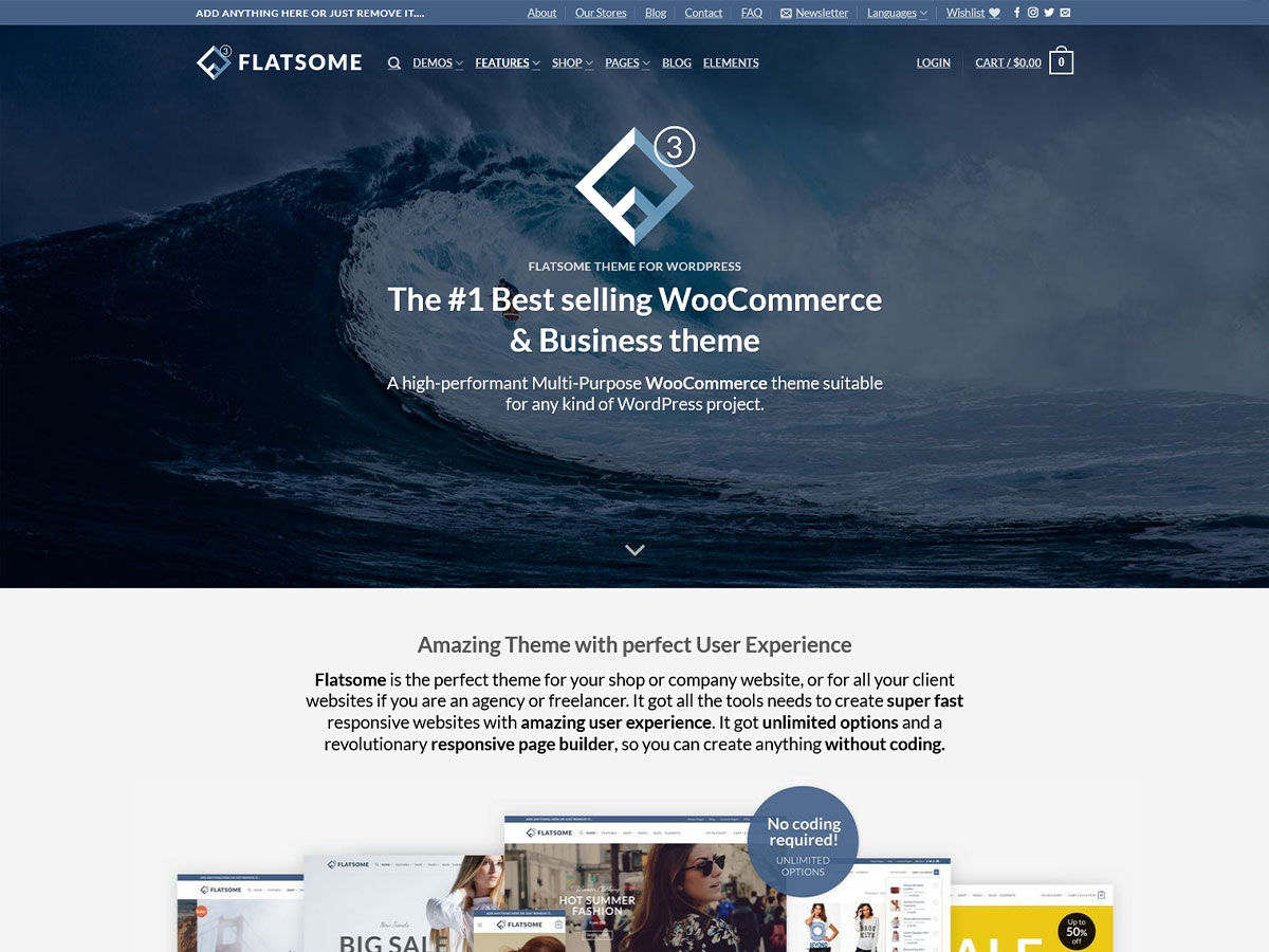 Flatsome- Review of the Best Selling WooCommerce theme (2021)