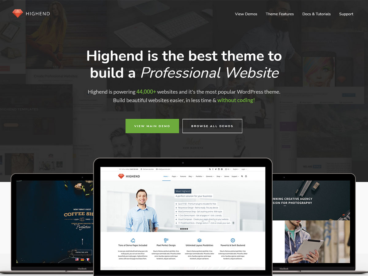 Highend-Review of The Best Selling WordPress theme in Mojo Marketplace (2021)