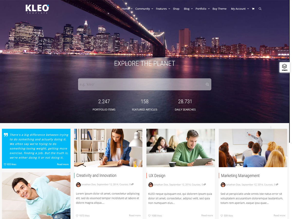 KLEO – Review of the Best Community WordPress Theme (2021)