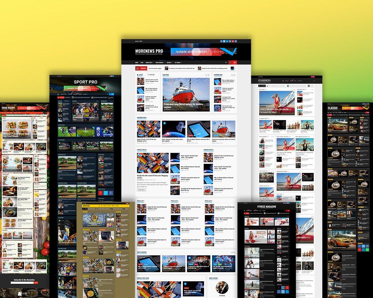 MoreNews – Review of The Professional News, Blog, & Magazine WordPress Theme (2021)